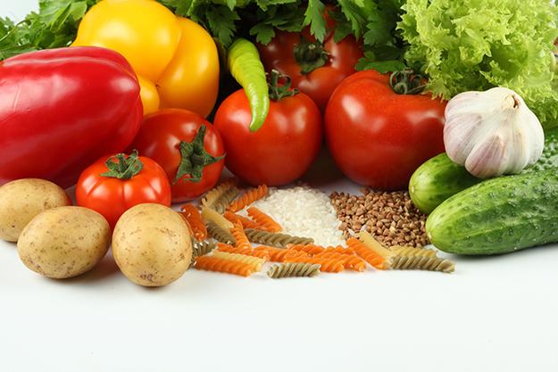 Jedzenie to paliwo, warzywa
